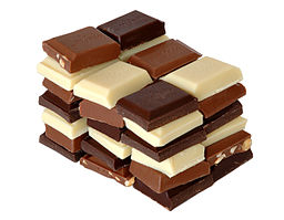 By User:Aka (File:Chocolate.jpg) [CC BY-SA 3.0], via Wikimedia Commons