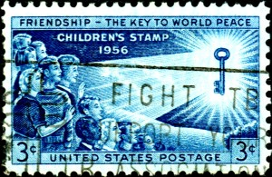 USA_1956_3c_FriendshipTheKeyToWorldPeace-300x195